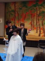 HANABUSAのイタリアンカット「クロシエカット」講習会を長野県飯田市で行いました!